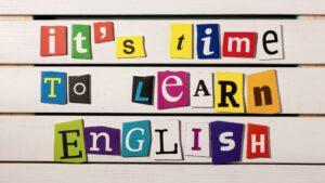 imparare bene l'inglese